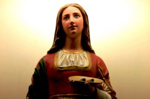 Oración a Santa Lucía para el amor